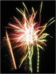 Fireworks by enervation