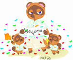 Animal crossing new horizons welcome to your getaw