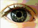 my sisters eye