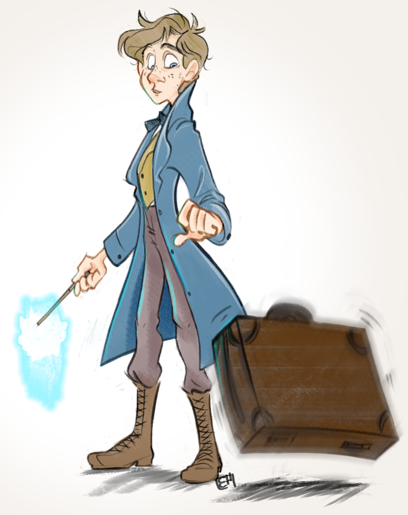 Fantastic Beasts And Where To Find Them Newton By Muminika