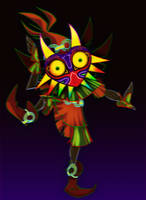 The Legend of Zelda: Majora's Mask by muminika