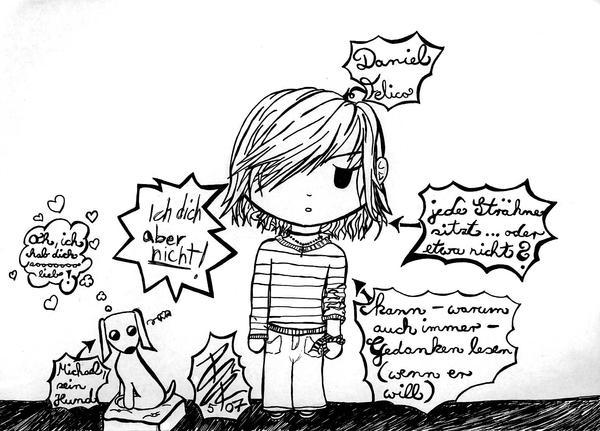 Daniel in his element by IHanakoI
