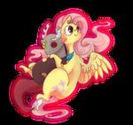 Fluttershy and Discord by LuciTFandMLP