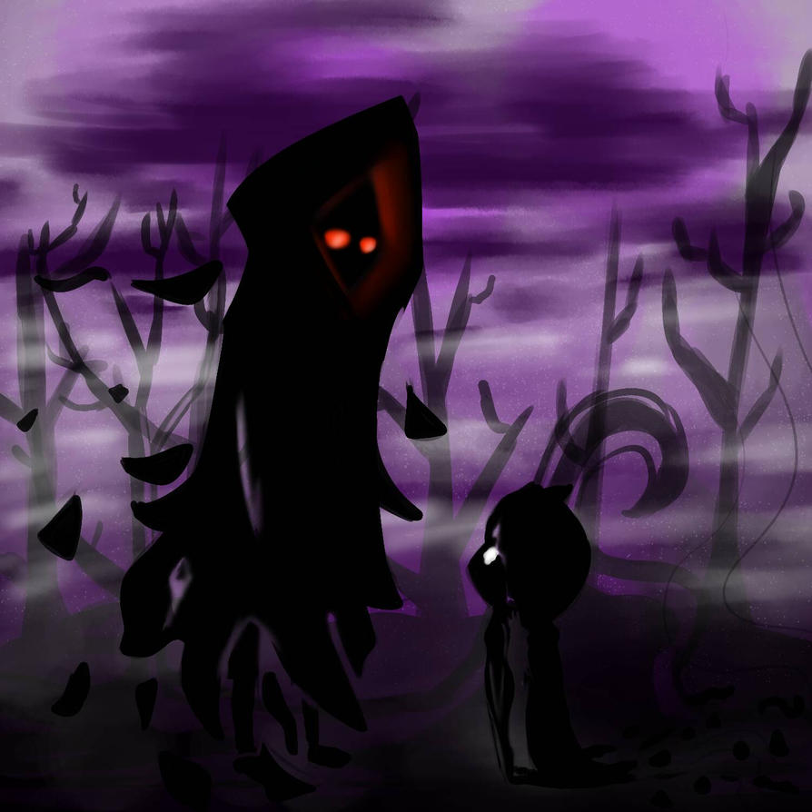 Deathly whispers  by LiloPuppet