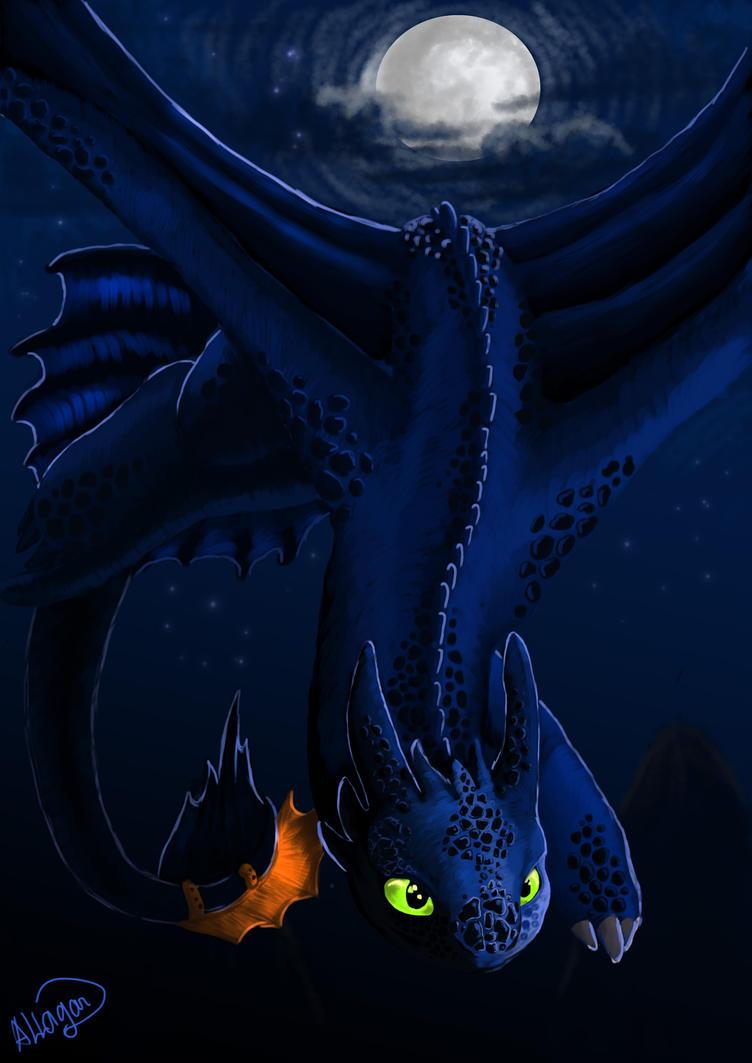 Night fury by allagar on deviantart - Fury nocturne ...