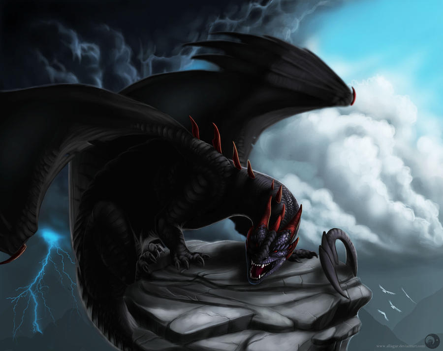 Lord of the clouds by Allagar