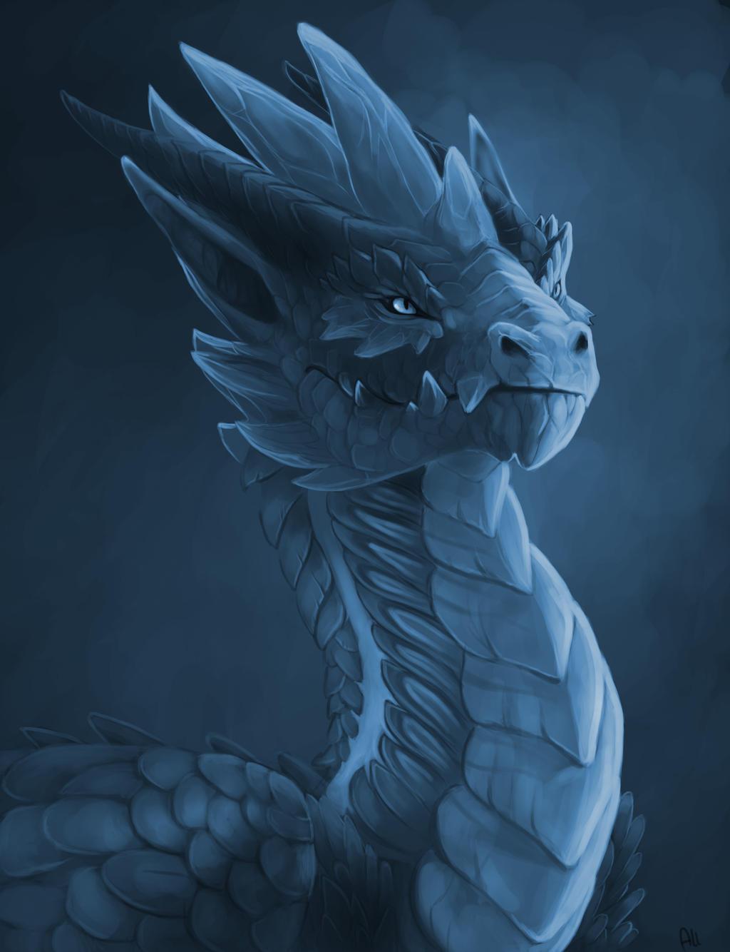 Ice guardian by Allagar