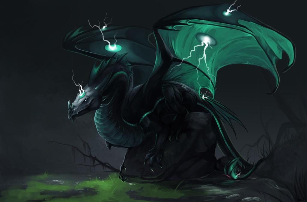 Toxic creature by Allagar