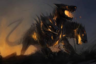 Hellhound by Allagar