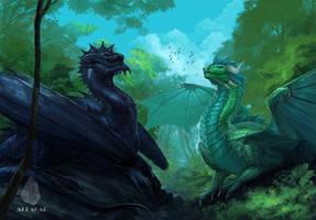 Forest Guardians by Allagar