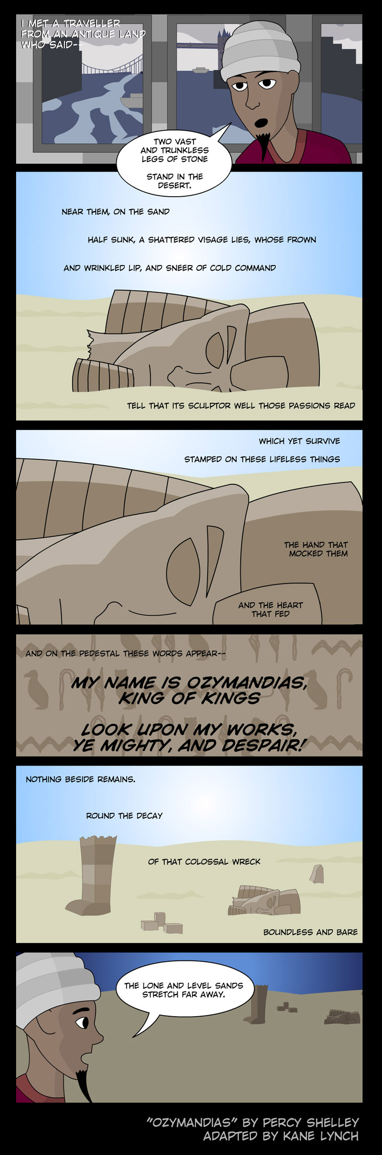 Ozymandias by scripturemonkey