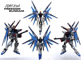 ZGMF-X10A Freedom Gundam by if-i-nvr-knew