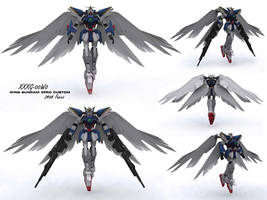 XXXG-00W0 Wing Zero Custom by if-i-nvr-knew