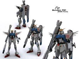 Gundam F91 by if-i-nvr-knew