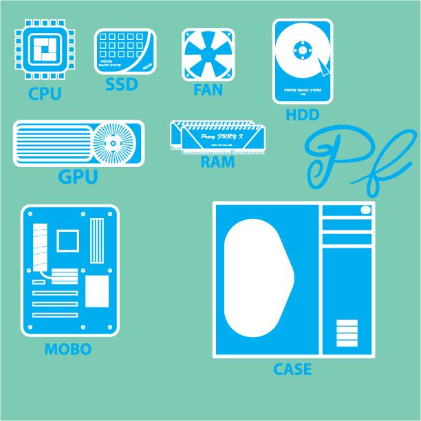 PC parts by ProxyJonny