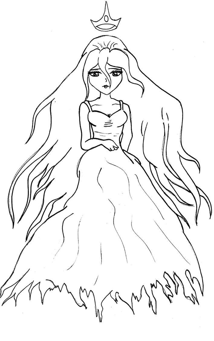 Vampire Princess Coloring Pages : How to draw vampire princess