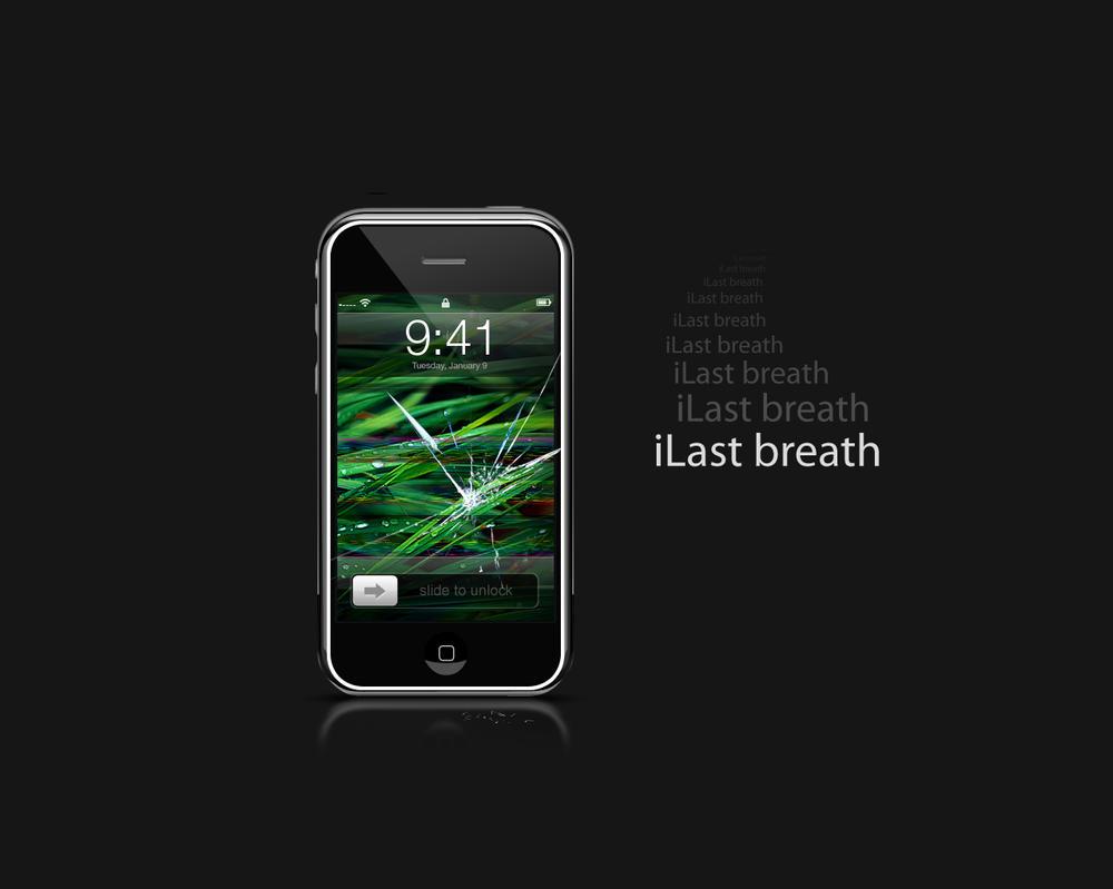 Broken iPhone by Kopessius