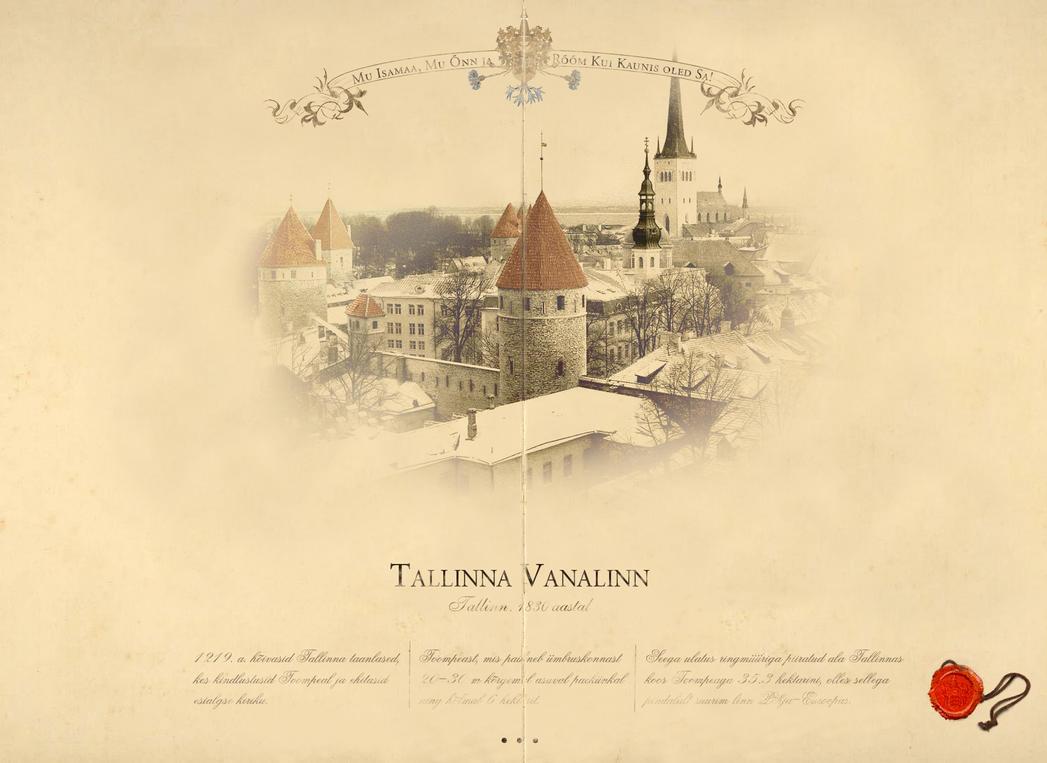 Tallinna Vanalinn by Kopessius