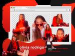 Olivia Rodrigo for Euphoria Mag [PNG PACK #38]