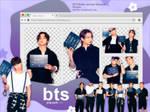 BTS BUTTER Concept Teasers V2 (PNG PACK #43)