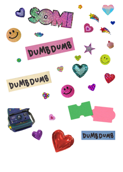 SOMI [dumb dumb] stickers
