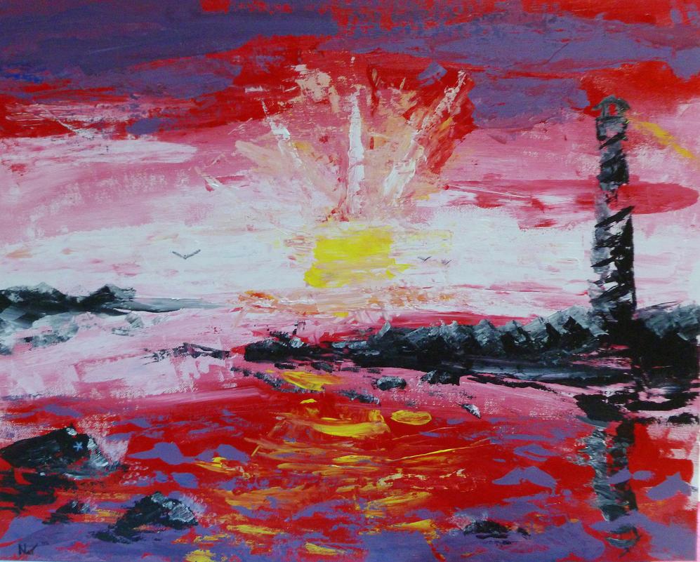 Lighthouse by FlagstaffTarzan