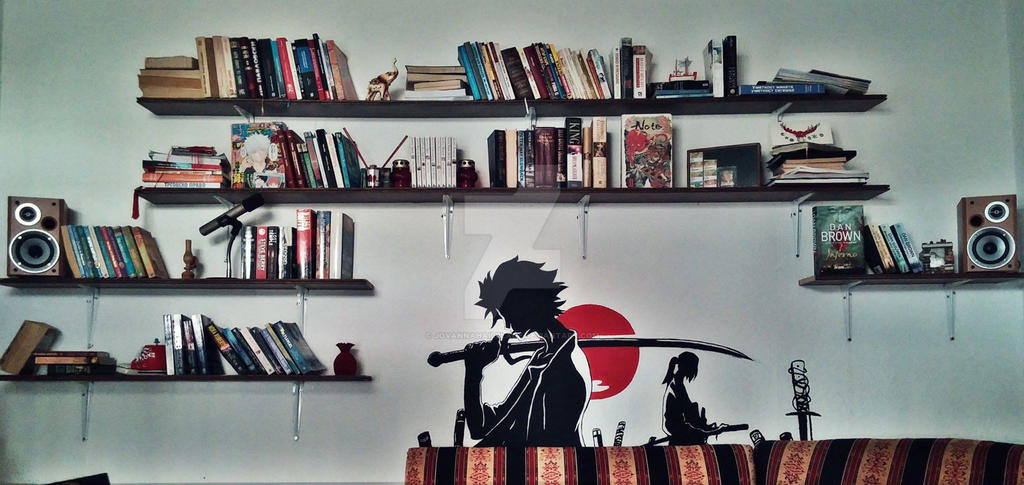 Samurai Champloo Wall Art by JovannaHailblade on DeviantArt