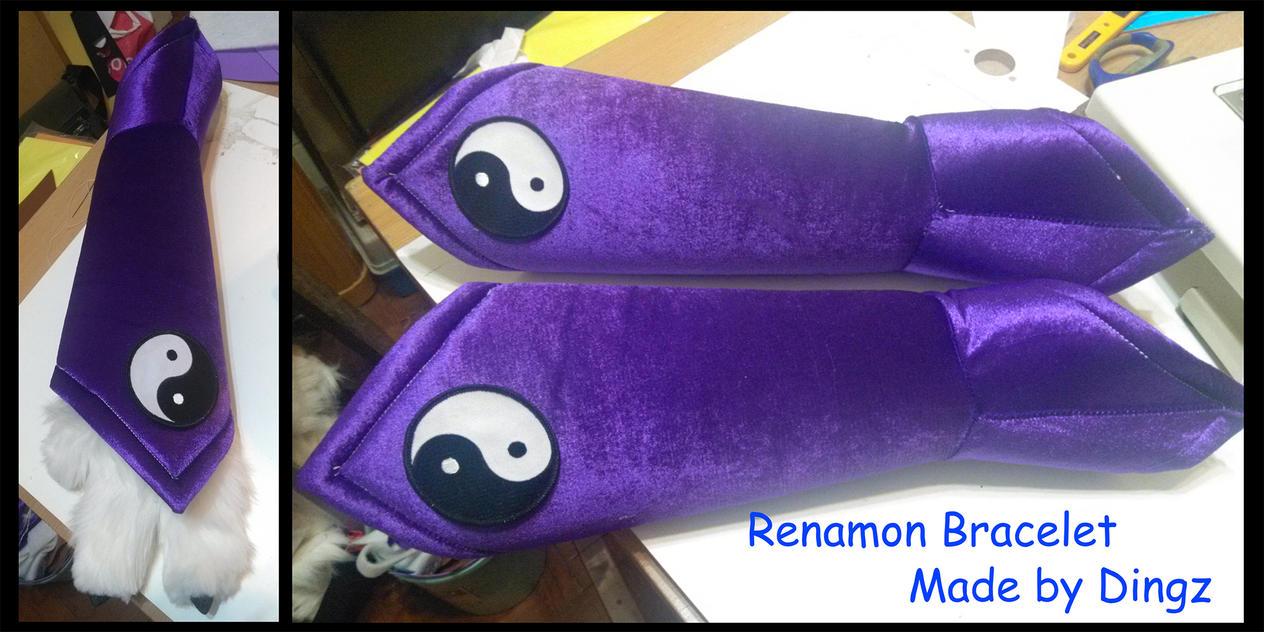 Renamon Bracelet by Dingz