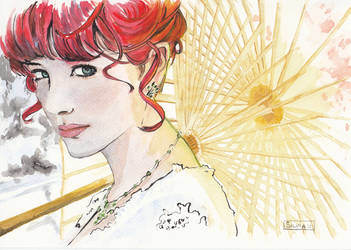 Parasol - Susan Coffey by SilviaDiMauro