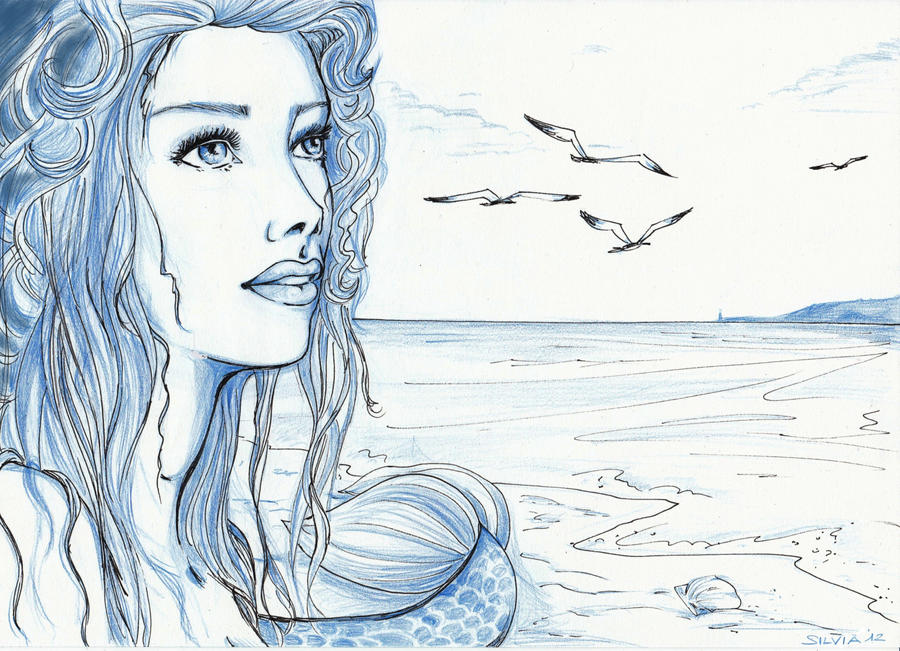 Sirena - Speed drawing...