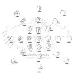 Hand Study Angle Chart 2