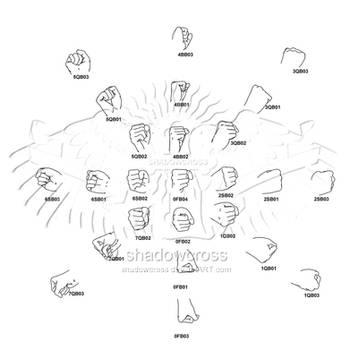 Hand Study Angle Chart 2 by Shadowcross