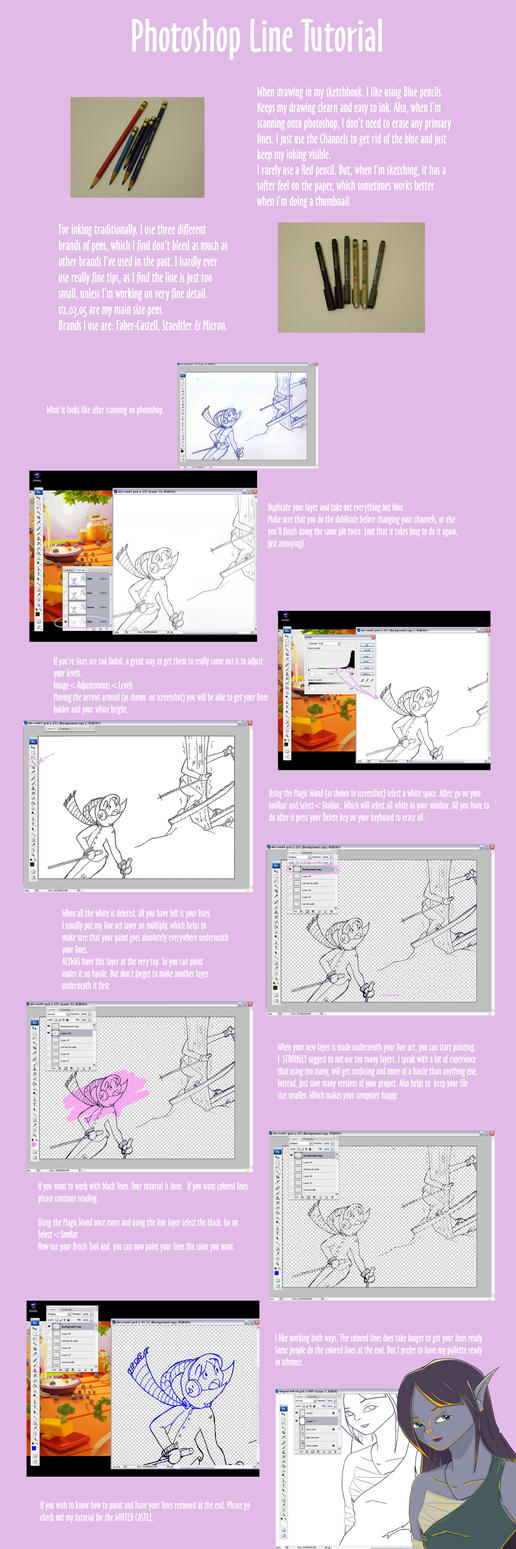 Photoshop line art tutorial by lstjules on deviantart photoshop line art tutorial by lstjules baditri Choice Image