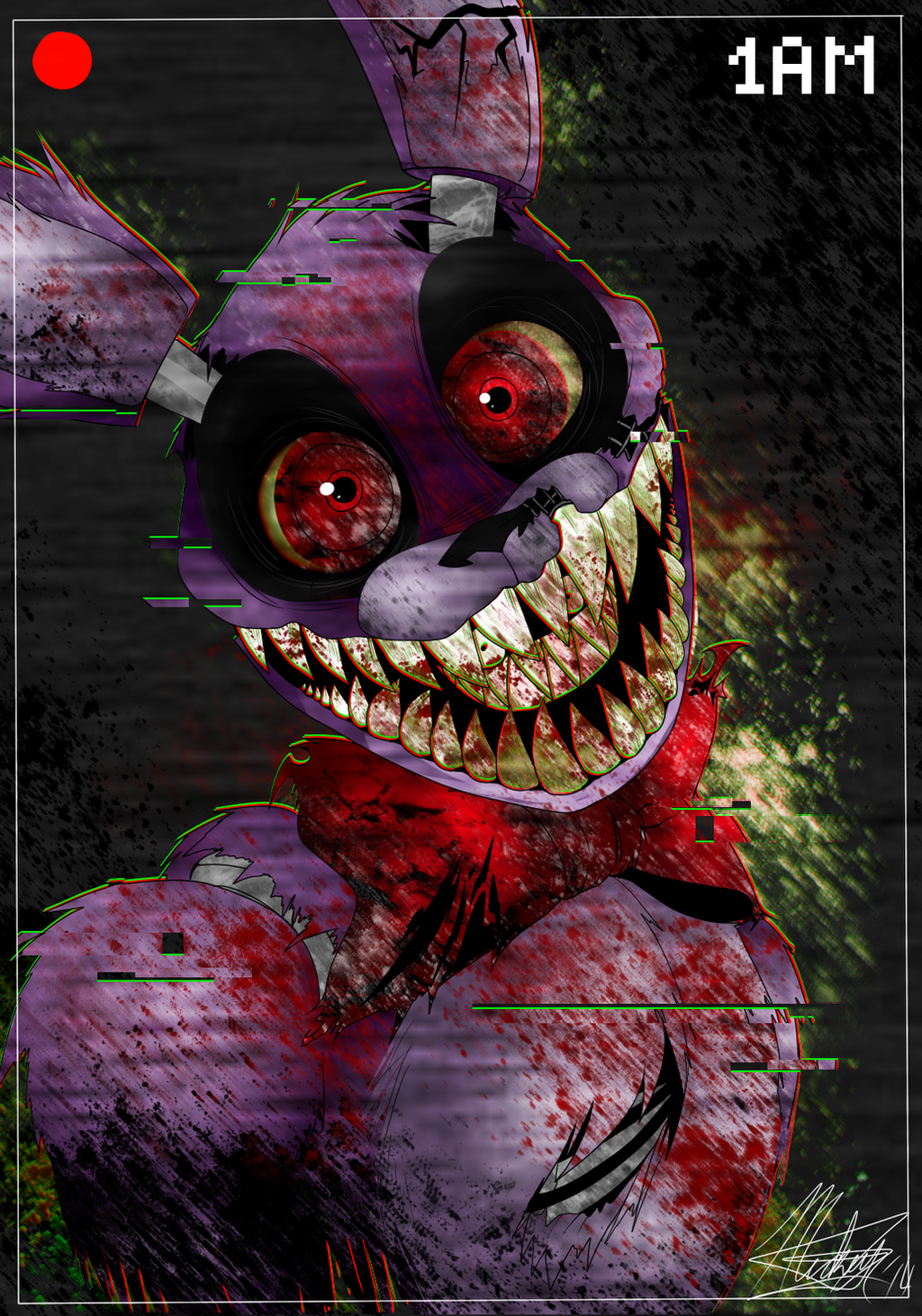 Am I the only one who thinks Bonnie is by far the scariest ...