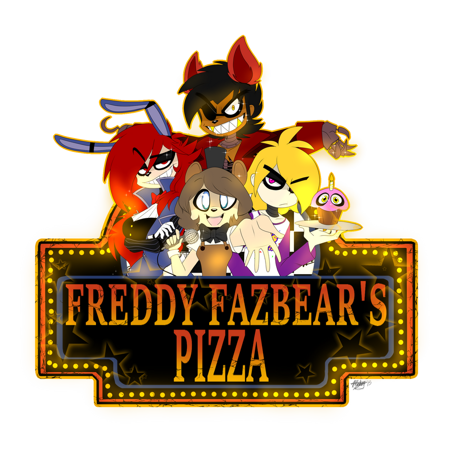 Five Friends At Freddy's By ToxicSoul77 On DeviantArt