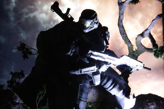 Custom Halo Reach Stand 06