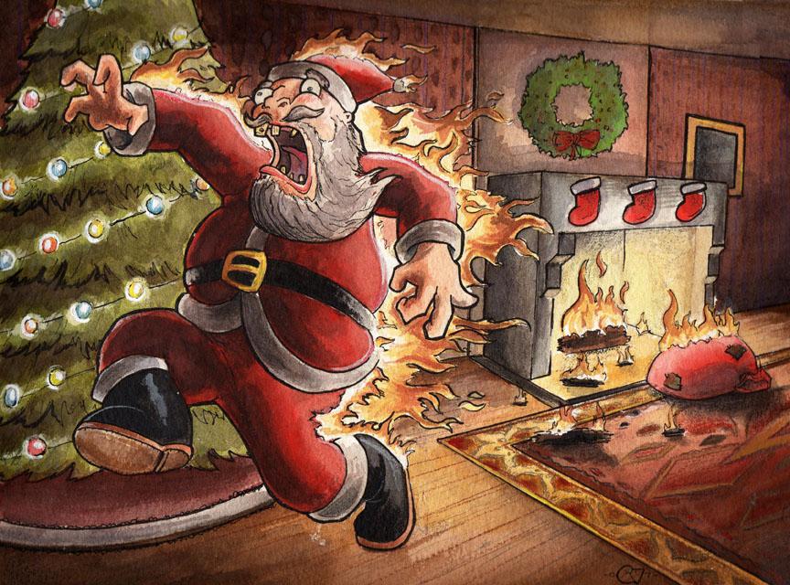Santa by EvJones