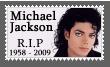 Michael Jackson stamp R.I.P
