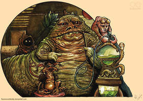 Jabba The Hutt's Palace by Fluorescentteddy