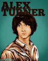 Alex Turner - Second version by Fluorescentteddy