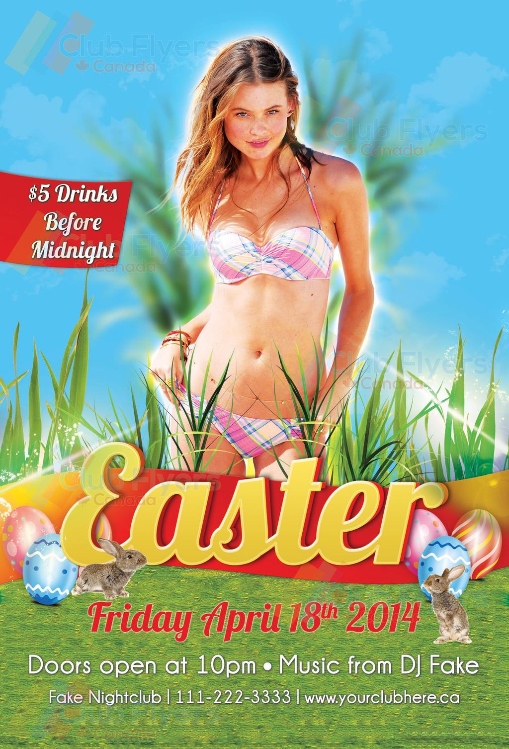 EASTER FLYERS on FlyerDesigns DeviantArt – Easter Brochure Template