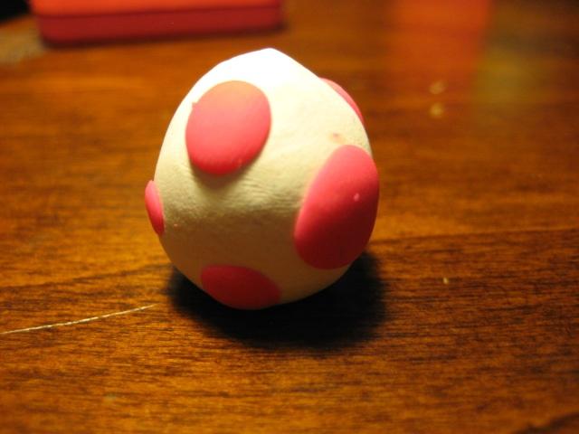 Clay Birdo Egg From Mario Kart Double Dash By Demetrax1