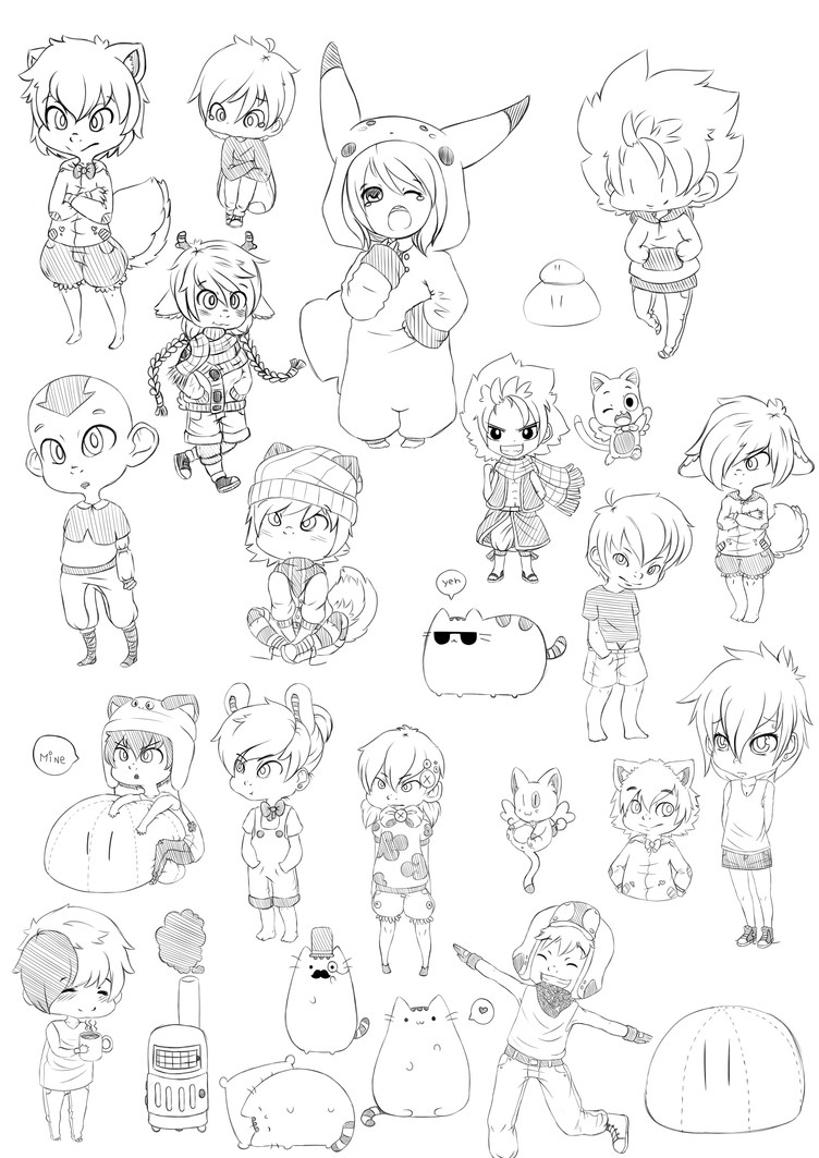 Doodle dump by WTFmoments