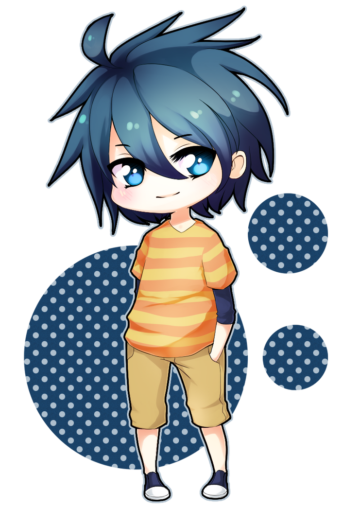 Kawaii Anime Chibi Boy
