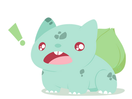 001 - Bulbasaur by WTFmoments