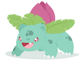 002 - Ivysaur by WTFmoments