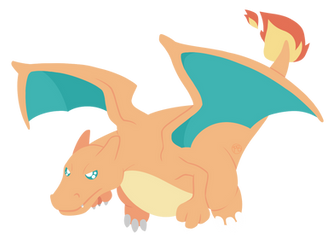 006 - Charizard by WTFmoments