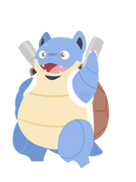 009 - Blastoise by WTFmoments