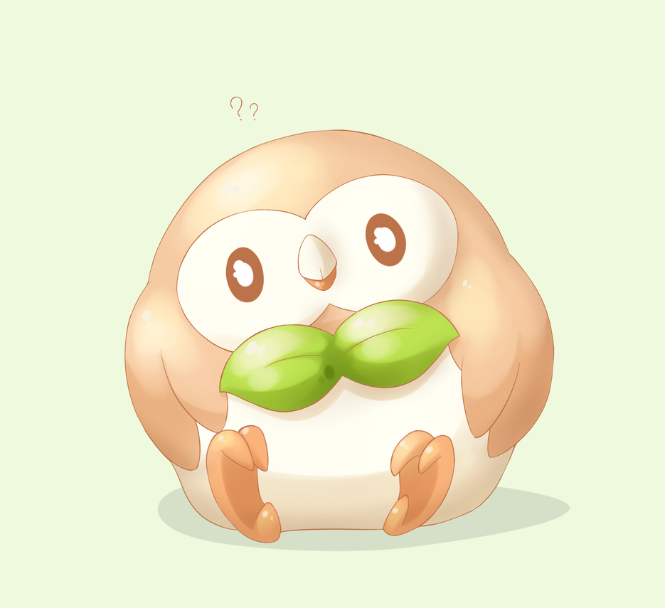 Rowlet by WTFmoments