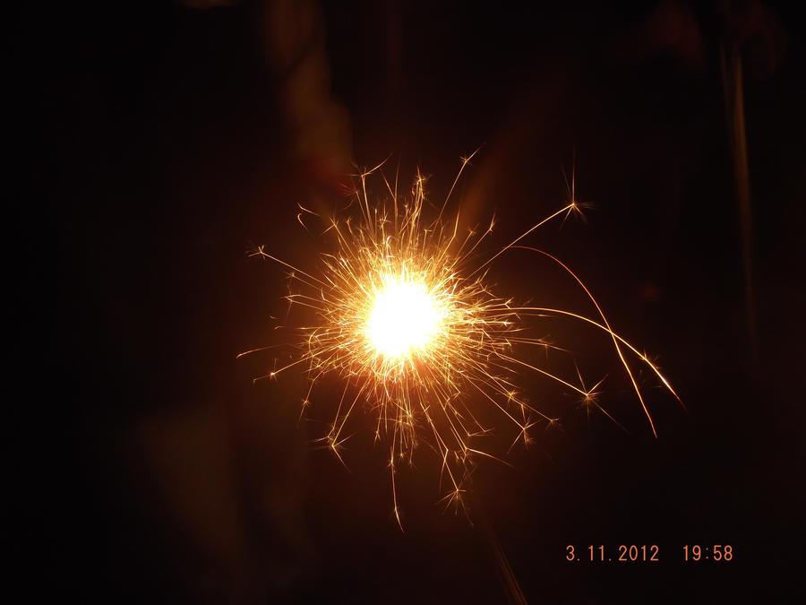 sparkler by skullzbabe98